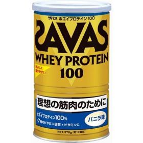 ザバス ホエイプロテイン100 バニラ (378g)
