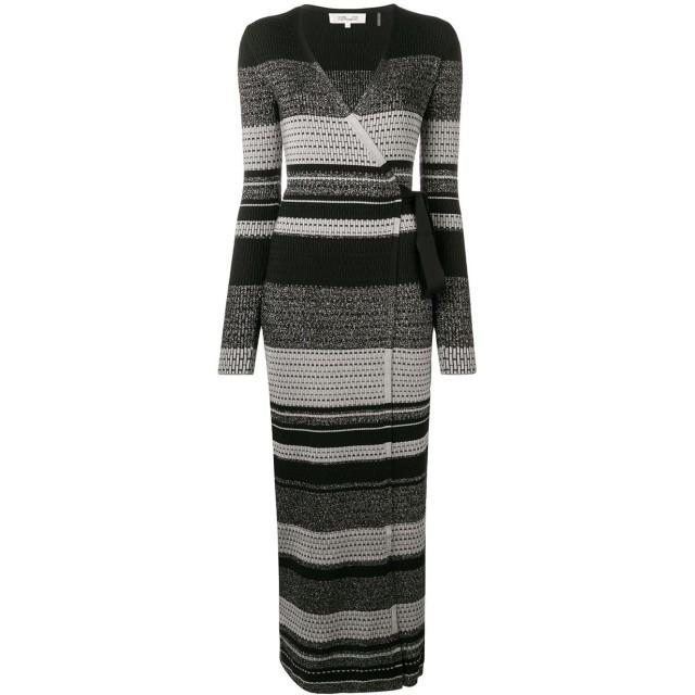 Dvf Diane Von Furstenberg ラップドレス - ブラック