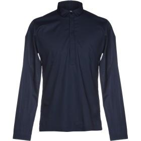 《期間限定セール開催中!》DANIELE ALESSANDRINI メンズ シャツ ダークブルー S コットン 97% / ポリウレタン 3%
