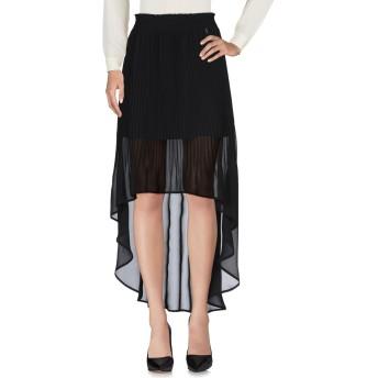 《セール開催中》PATRIZIA PEPE レディース 7分丈スカート ブラック 42 ポリエステル 100%