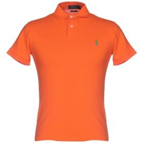 《期間限定 セール開催中》POLO RALPH LAUREN メンズ ポロシャツ オレンジ S コットン 100%