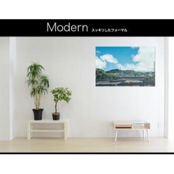 【日本製】アートボード/アートパネル artmart アートマート 絵画や写真をアルミフレームで表現 風景_街_20130729-057