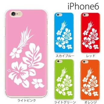 スマホケース iphone6s スマホカバー 携帯ケース アイフォン6s iphone6 ハード カバー ハイビスカス