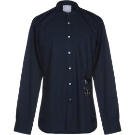 《期間限定セール開催中!》SAPORE メンズ シャツ ダークブルー 43 コットン 100%