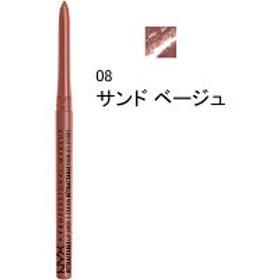 NYX Professional Makeup(ニックス) リトラクタブル リップライナー 08 カラー・サンド ベージュ