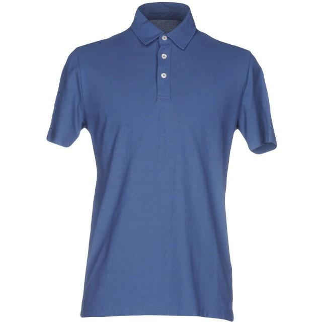 《期間限定セール開催中!》ALTEA メンズ ポロシャツ ブルー S コットン 100%