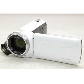 [中古] Panasonic デジタルハイビジョンビデオカメラ HC-V360M-W ホワイト