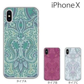 スマホケース iphonex スマホカバー 携帯ケース アイフォンx ハード カバー / ペイズリー TYPE3