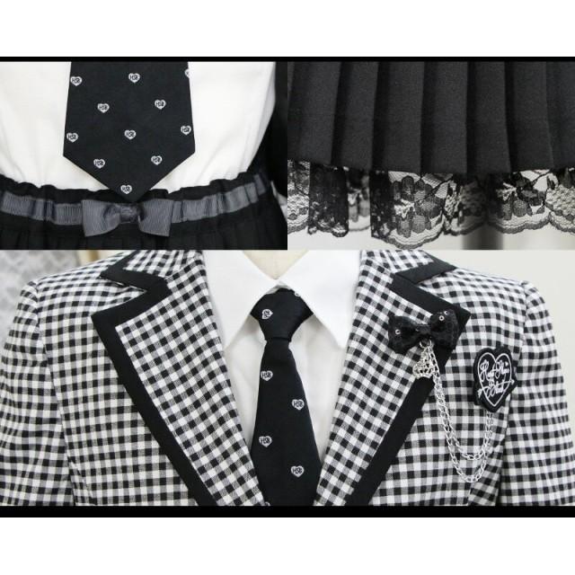 5d2e2353c0bf2 フォーマルスーツ - リトルプリンセス 卒業式 スーツ 女の子 子供服 HEART SHAPE BLACK 63204 ギンガム