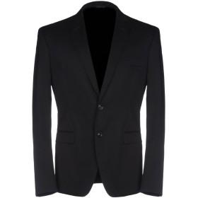 《セール開催中》TONELLO メンズ テーラードジャケット ブラック 50 ウール 97% / ポリウレタン 3%