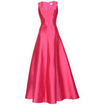 《期間限定セール開催中!》MIKAEL AGHAL レディース ロングワンピース&ドレス フューシャ 2 ポリエステル 100%