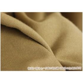 ひざ丈スカート - DevilBambina フロントボタン使いタックスカート●スカート Aライン コットン 綿100% 台形スカート ミモレ丈 ベージュ ブラウン 緑 グリーン/