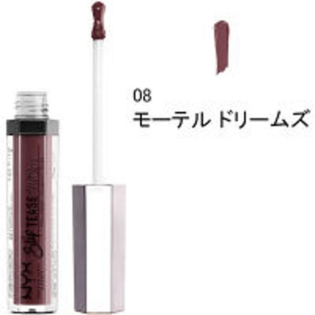 NYX Professional Makeup(ニックス) スリップティーズ リップ ラッカー 08 カラー・モーテル ドリームズ
