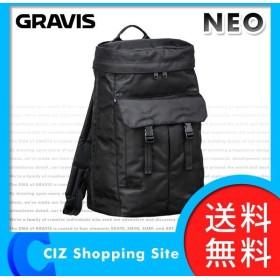 (送料無料&お取寄せ) グラビス(GRAVIS) NEO BLACK 27L バックパック リュック デイパック 12814102001 ネオ ブラック