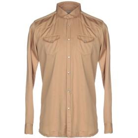 《期間限定セール開催中!》DANIELE ALESSANDRINI メンズ シャツ サンド 41 コットン 98% / ポリウレタン 2%