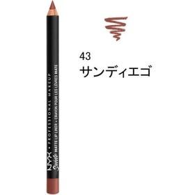 NYX Professional Makeup(ニックス) スエード マット リップライナー A 43 カラー・サンディエゴ
