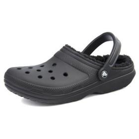 クロックス crocs CLASSIC LINED CLOG クラシックラインドクロッグ 203591 060 ブラック/ブラック【メンズ】 スニーカー