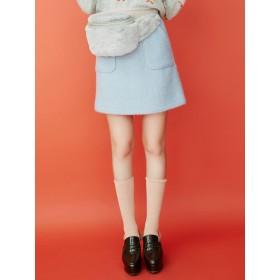 dazzlin ブークレー台形ミニスカート