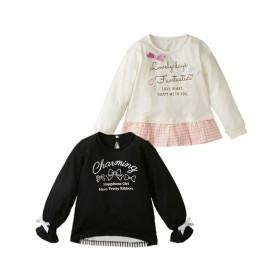 7758317e984d6 マルイ   70 80 90cm  Tシャツ(サスペンダープリント) ミキハウス ...