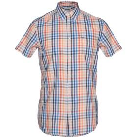 《期間限定セール開催中!》WRANGLER メンズ シャツ オレンジ S コットン 100%