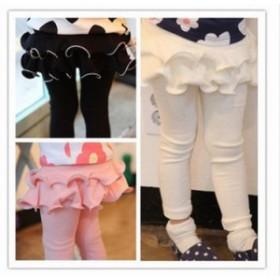 レギンス スカート付きパンツ レギンス付きスカート ベビー キッズ 女の子 ボトムス フル
