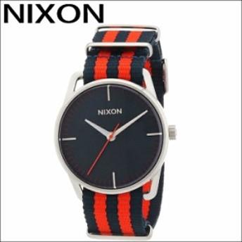 【商品入れ替えクリアランス】ニクソン NIXON メラー サープラス A1291152 腕時計 時計 メンズ ネイビー レッド NATO ナイロン 青い腕