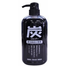 ジュン・コスメティック 純薬 炭シャンプー ポンプ 600ml @B倉庫