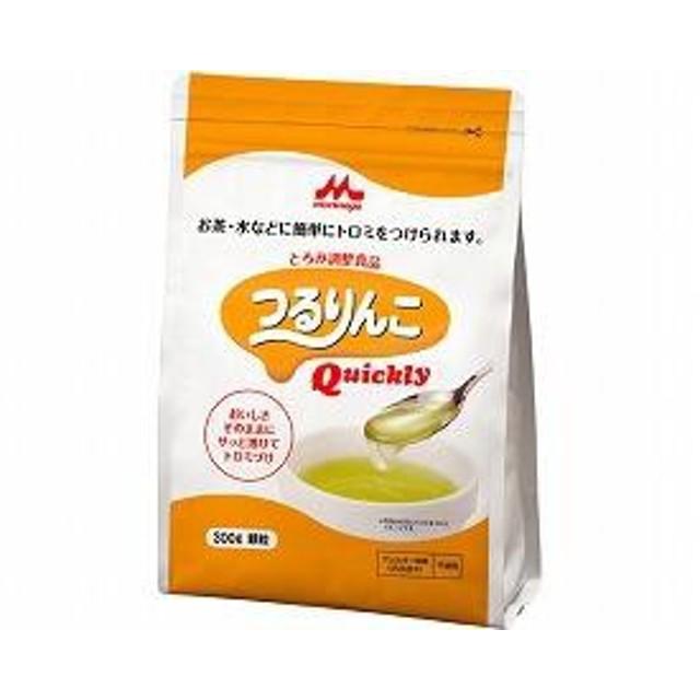 クリニコ 介護食 つるりんこ クイックリー 300g (トロミ調整食品 トロミ剤 食事補助 嚥下補助)  介護用品