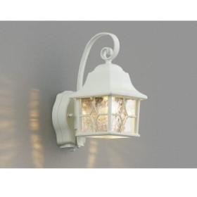 コイズミ ポーチ灯 マルチタイプ AU42404L 人感センサ付 『ブラケットライト エクステリア照明 ライト』 白色