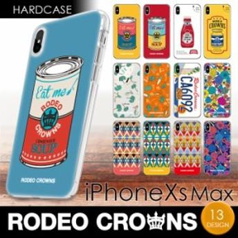 iPhoneXS Max (6.5インチ) 専用 RODEO CROWNS ハードケース ロデオクラウンズ ブランド iphone アイフォン ケース