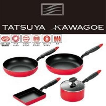 タツヤ・カワゴエ (樹脂ハンドル) キッチンツール4点セット TKM-1000S【送料無料】