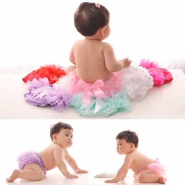 ブルマスカート チュールスカート 女の子 子供服 ベビー服 ボトムス キッズ KIDS 女児 フリフリ 華や