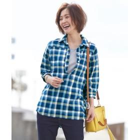 綿100%シャツチュニック (ブラウス),Blouses, Shirts