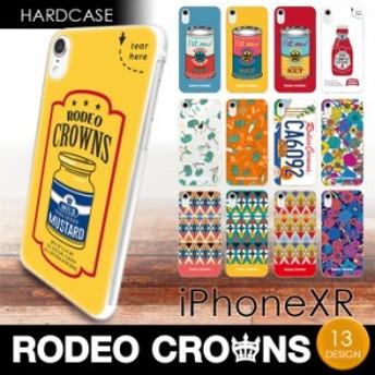 iPhoneXR (6.1インチ) 専用 RODEO CROWNS ハードケース ロデオクラウンズ ブランド iphone アイフォン ケース