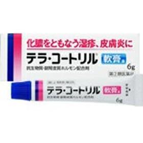 第(2)類医薬品 納期約1~2週間 テラ・コートリル軟膏a 6g