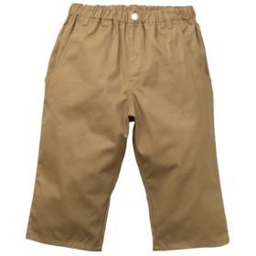 【もっとゆったりサイズ】6分丈ツイルパンツ(男の子 子供服。ジュニア服) パンツ