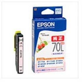 【 純正品 】 EPSON エプソン インクカートリッジ 【ICLM70L ライトマゼンタ 増量】