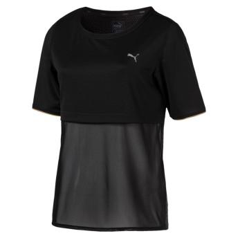 【プーマ公式通販】 プーマ A.C.E. リヴィール Tシャツ ウィメンズ Puma Black  CLOTHING PUMA.com