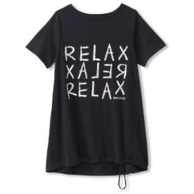 【2点までメール便送料無料】ダンスキン ロングレングスTシャツ レディース DB78324-WK
