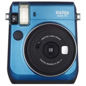 富士フイルム FUJIFILM インスタントカメラ チェキ instax mini70 ブルー INS MINI 70 BLUE