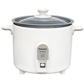 パナソニック 炊飯器(1.5合炊き) ミニクッカー SR-MC03-W [ホワイト]