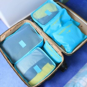Kitdine アレンジケース トラベルポーチ 海外旅行 出張 便利グッズ 衣類収納 靴バッグ 洗面用具入れ PC周辺小物整理 収納バッグ