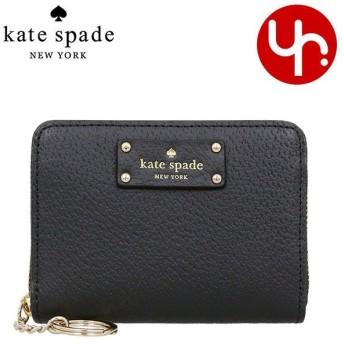 ケイトスペード kate spade 財布 コインケース WLRU3212 ブラック グローブ ストリート ダニー レザー コイン ケース アウトレット レディース