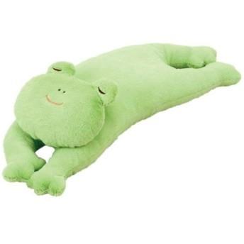 おやすみシフォン 抱きまくら カエル 28266-54