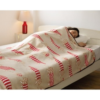 LISA LARSON/リサ・ラーソン電気毛布シリーズ 電気掛け敷き毛布ベージュマイキー