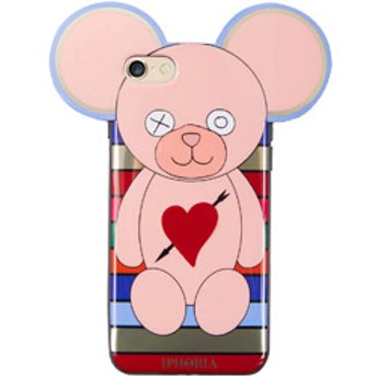 Case for Apple iPhone 7/8 - Teddy with Heart and Arrow Multicolor Stripes 15421