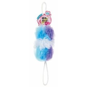 マーナ 背中も洗えるシャボンボール ミックス B873B ブルー