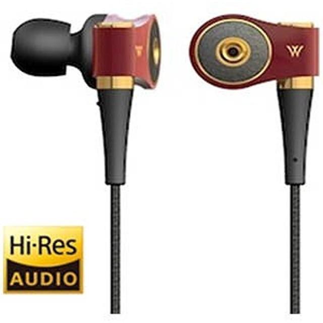 RADIUS 「ハイレゾ音源対応」カナル型イヤホン(ルージュ)1.2mコード HP‐TWF41K