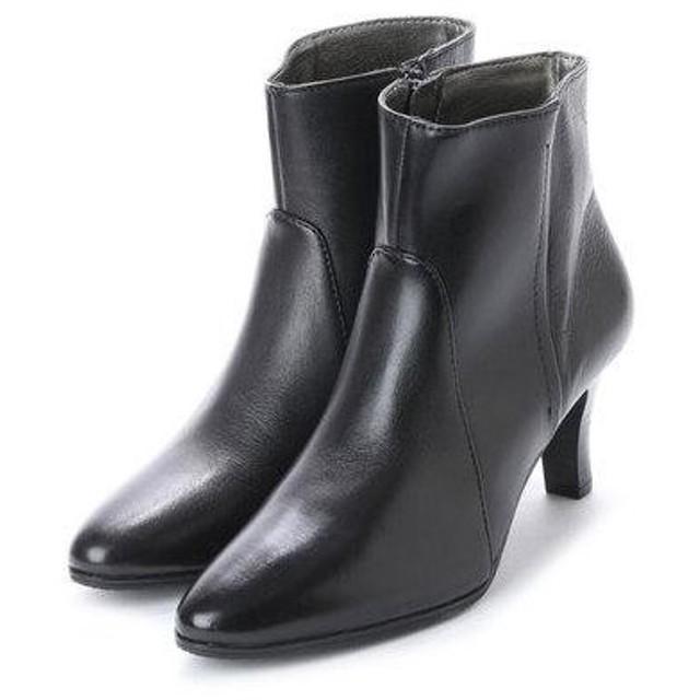 ソフィアコレクション Sophia collection プレーンショートブーツ (ブラック)
