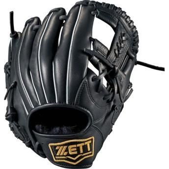 ZETT ゼット 一般・中学軟式野球用グラブ バーノン オールラウンド BRGB35810 ブラック